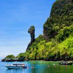 เกาะไก่ ประติมากรรมหินหัวไก่ ที่เดียวในประเทศไทย