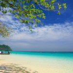 เกาะรอก มนต์เสน่ห์หาดทราย เกาะแฝดกลางทะเล